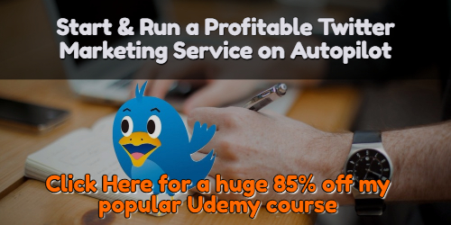 Twitter Course 85% Discount