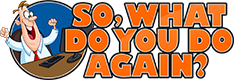 So, What Do You Do Again? logo