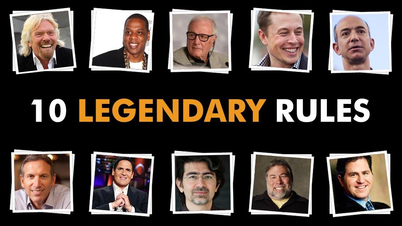 10-Legendary-Rules-from-Legendary-Entrepreneurs