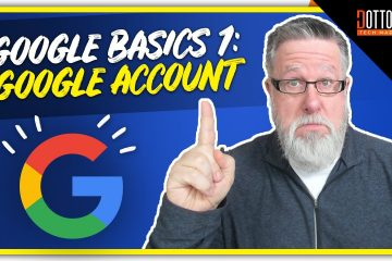 Google-Account-Google-Basics-Part-1