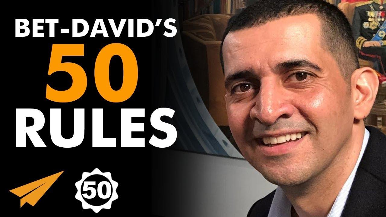 Patrick-Bet-Davids-Top-50-Rules-for-Success-@patrickbetdavid