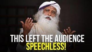 Sadhguru-Left-The-Audience-Speechless-incredible-speech