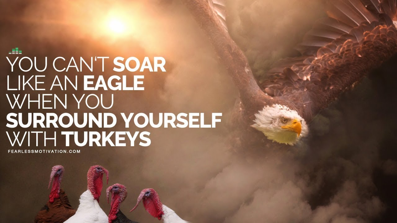 You-Cant-Soar-Like-An-Eagle-When-You-Surround-Yourself-With-Turkeys-Motivational-Speech