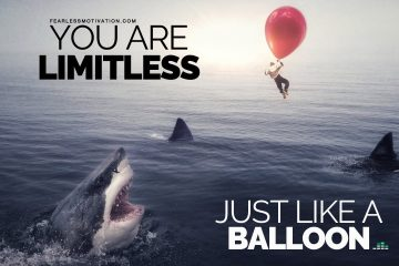 Youll-never-be-GREAT-if-you-believe-in-LIMITS-Balloon-Concept-Motivational-Video